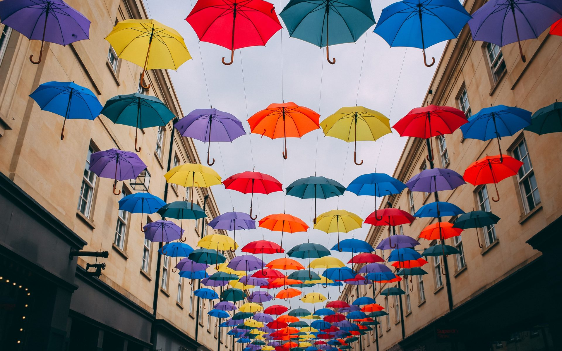 parapluies couleur