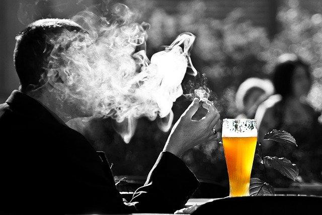 addiction cigarette alcool